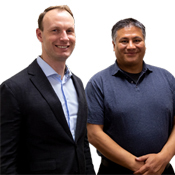 Dr. Jonathan Hull, Co-Founder and Vice President and Roger Chen, Founder and President, Bioelectronica